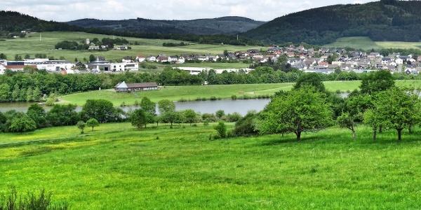 Perfstausee und Breidenstein