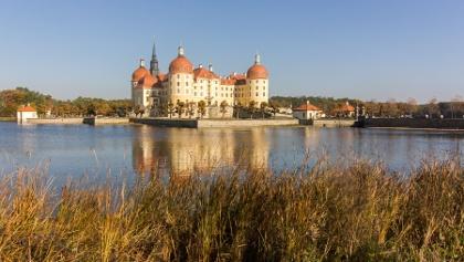 Kilometer 27: Schloss Moritzburg