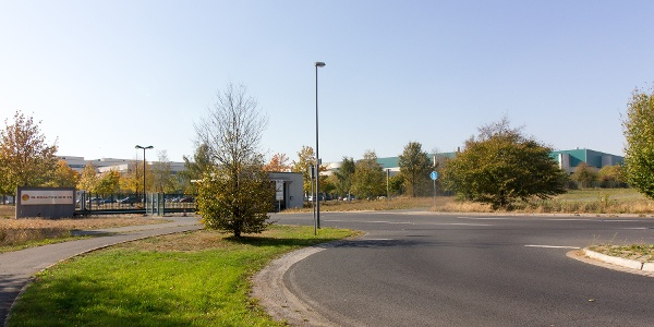 Kilometer 35: Die Chipfabrik Globalfoundries in Dresden-Wilschdorf