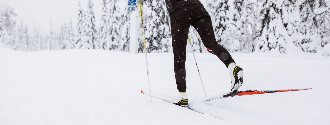 Nordic skiing in Ruka Ski Resort, Kuusamo