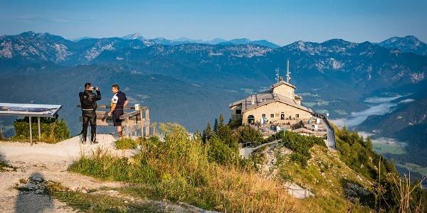 Gipfelfoto am Kehlstein