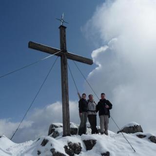 Spitzstein Gipfelkreuz