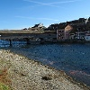 Diessenhofen und gedeckte Holzbrücke.