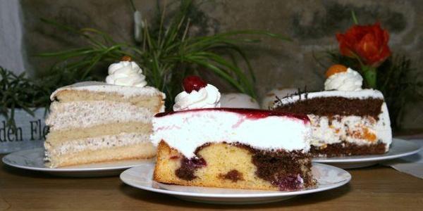 selbstgebackener Kuchen