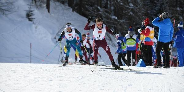 Piste FIS à l'occasion des Championnats du monde juniors 2018 Goms
