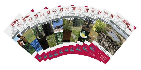 TERRA.natura-Broschürenserie erhältlich beim Natur- und Geopark TERRA.vita