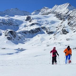 Schneeschuhwanderung Alp Bondo