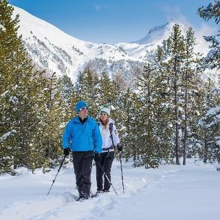 Schneeschuh-Trail Morteratsch