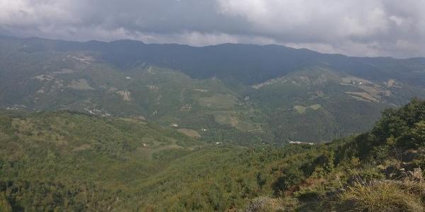 Ausblick vom Monte Orlando
