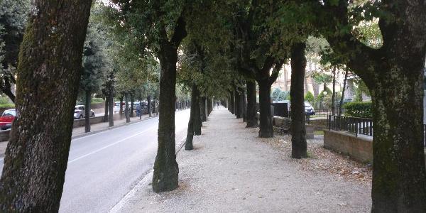 """Gubbio - """"Straße der Erinnerung"""""""