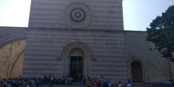 Assisi - Basilica di Santa Chiara