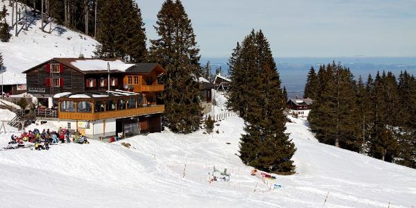 Berghütte Selital.