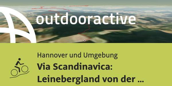 Mountainbike-tour in Hannover und Umgebung: Via Scandinavica: Leinebergland von der Wernershöhe ...