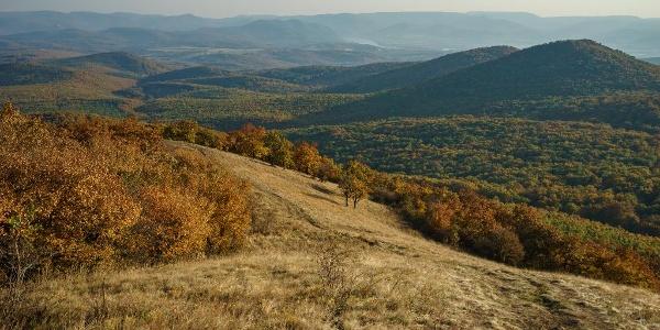 A Sós-hegy legelője és a Dunakanyar