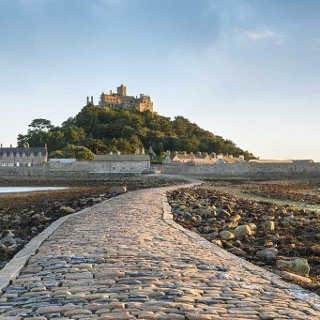 Cornwall:Padstow nach St. Michael's Mount