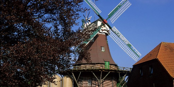 Holländerwindmühle in Horsten