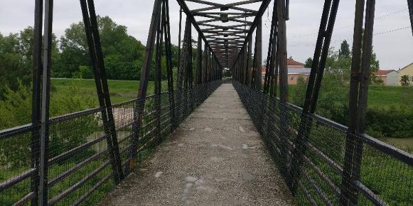 Brücke über die Livenza