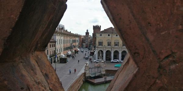 Blick vom Castello Estense