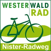 Routenlogo für den Nister-Radweg
