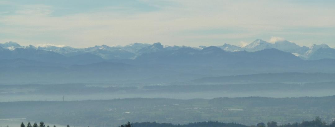 Blick von Wäldener Höhe bei Herdwangen-Schönach