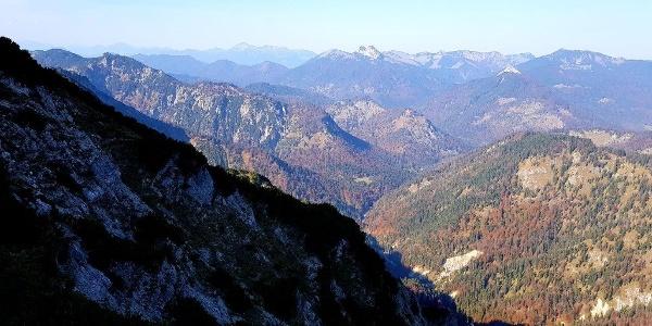 Halserspitz Blick nach Westen