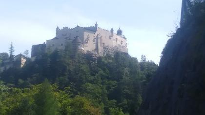 Die wunderschöne Burg Hohenwerfen.