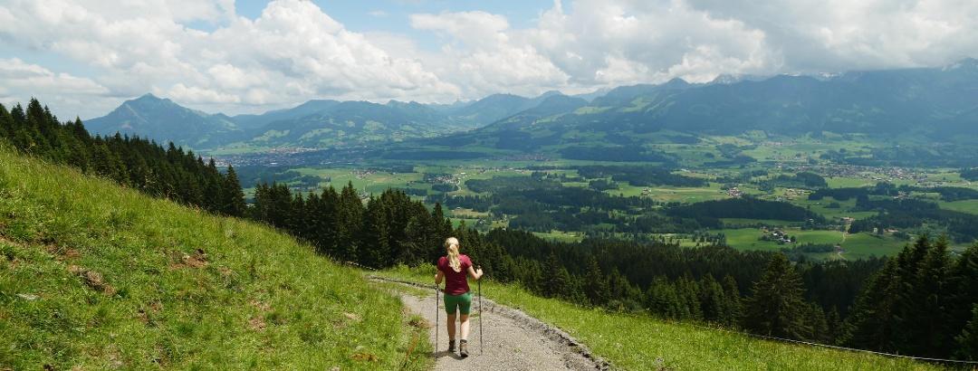 Wanderer Allgäu