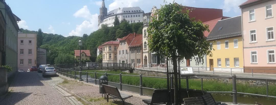 Blick zur Osterburg