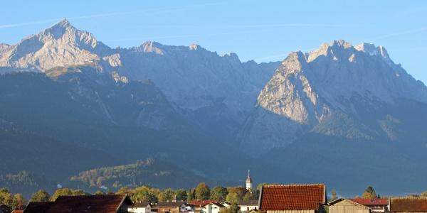 Panoramabild Garmisch-Partenkirchen