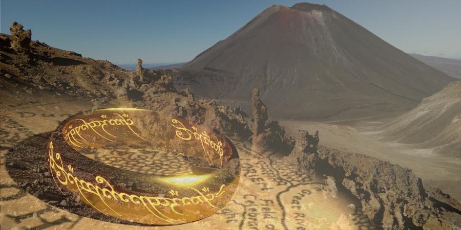 Mount Ngauruhoe – das Vorbild für den Schicksalsberg
