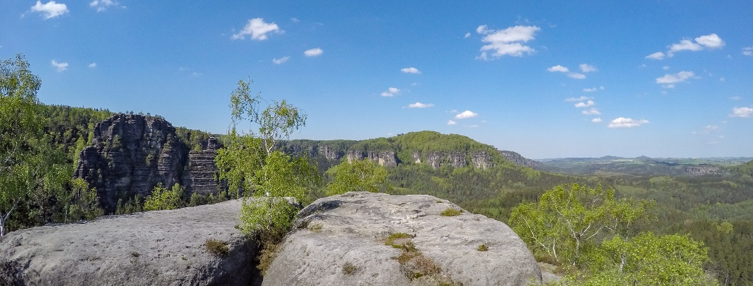 Auf dem Gipfelplateau des Wintersteins (Hinteres Raubschloss)