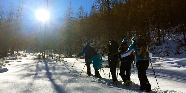Schneeschuhwanderung Villgratental