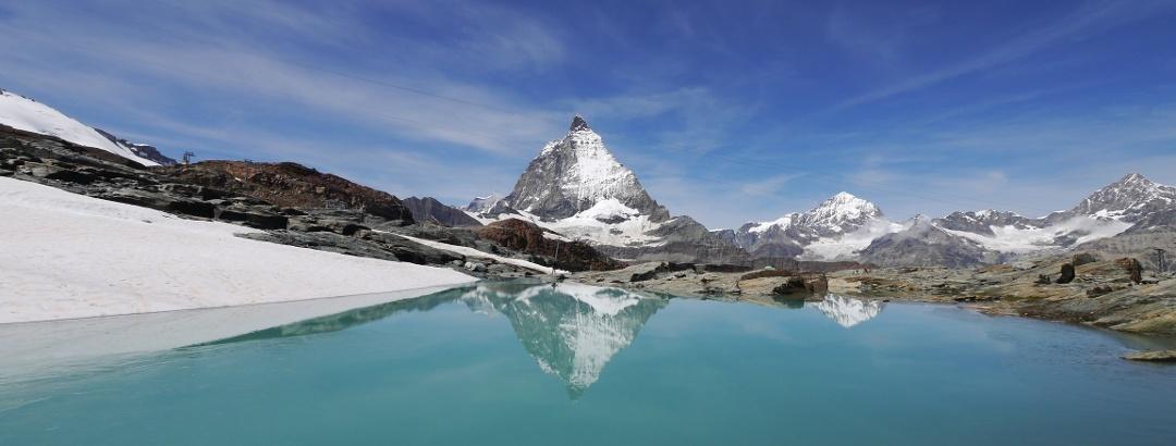 Theodulgletschersee am Matterhorn