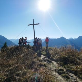 Gipfelkreuz am Lachenkopf