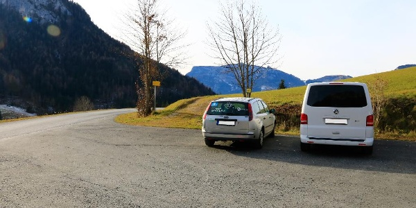 Parkplatz in Obermayerberg