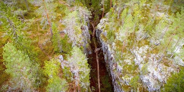 Orinoro Hiking Trail, Orinoro Gorge