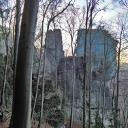 Der Felsensteig hat einige massive Wände zu bieten.