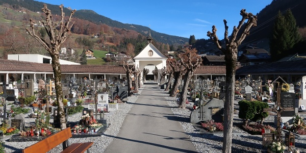 Christlicher Friedhof