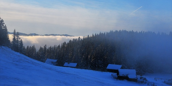 Die winterliche Lachalm