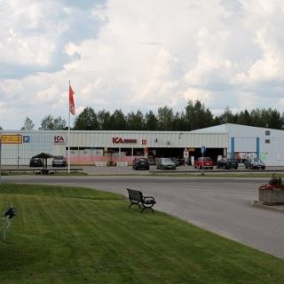 ICA Nära Ytterhogdal, invid Helgonleden