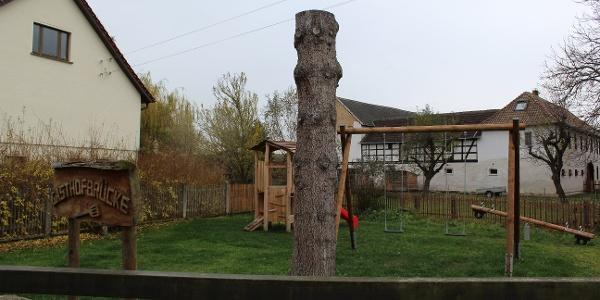 Spielplatz am Gasthof Wetzdorf