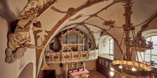 Schlosskapelle im Museum Schloss Burgk