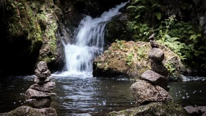 Wasserfall in der Ravennaschlucht