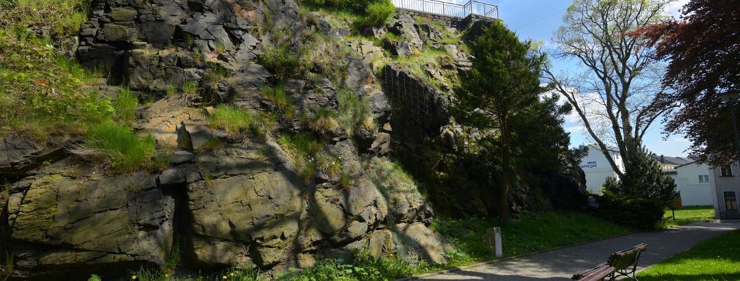 Schlossfelsen Falkenstein/Vogtland