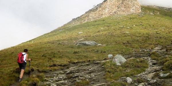 Südrücken vor dem Rif. Ca d'Asti