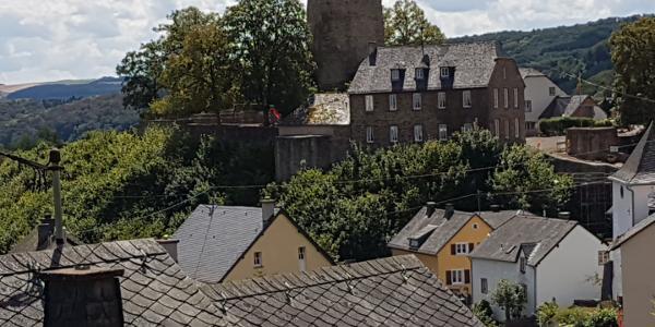 Blick auf die Dasburg