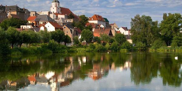 Blick auf Ronneburg