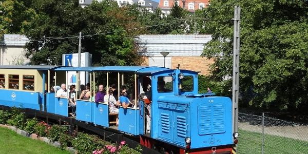 Parkeisenbahn in der Freizeitanlage Syratal