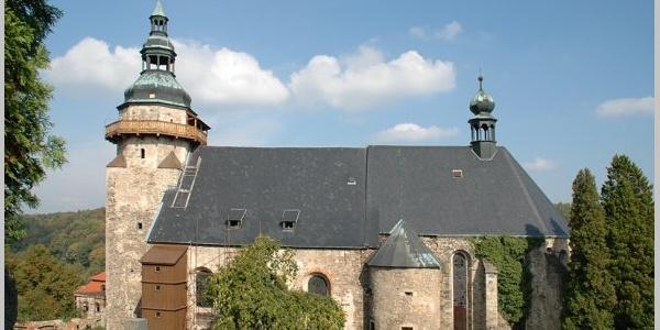 Kirche St. Georg in Horní Slavkov (Schlaggenwald)