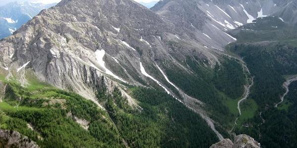 Weittalspitze von der Gamswiesenspitze